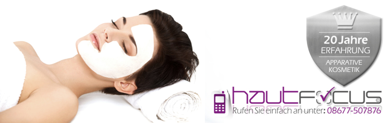 Kosmetikbehandlung Burghausen Bayern / Kosmetikstudio hautFOCUS: Erfahrung und Fachkompetenz sollen Ihr Vorteil sein.