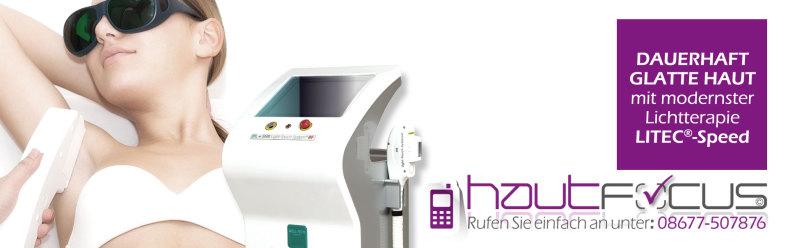 IPL SHR RF Dauerhafte Haarentfernung Burghausen Bayern / Kosmetikstudio hautFOCUS: Das neue Multipuls-Lichtsystem mit unterstützender Radiofrequenzenergie garantiert höchsten Behandlungskomfort.