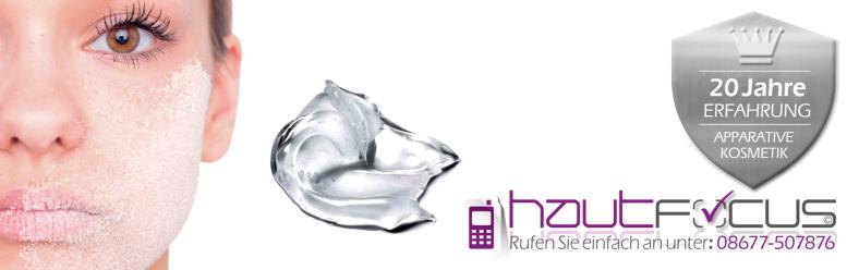 Peeling Burghausen Bayern / Kosmetikstudio hautFOCUS: Ihre Wirkung wird oft unterschätzt.