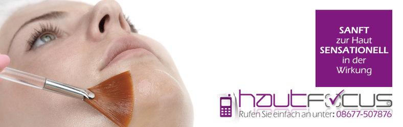 PCA Peeling Burghausen Bayern / Kosmetikstudio hautFOCUS: Ein patentierter Komplex an Fruchtsäuren europaweit einzigartig.