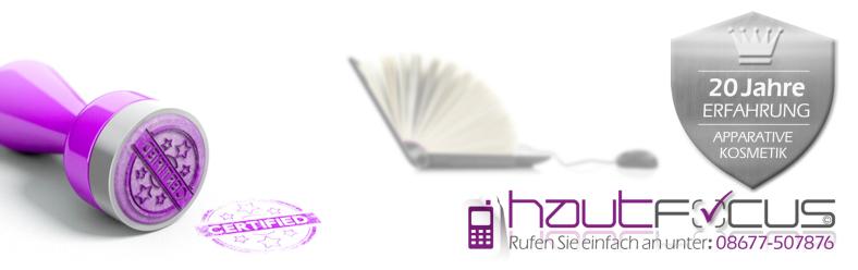 Zertifiziertes Kosmetikstudio Burghausen Bayern / Kosmetikstudio hautFOCUS: Ich biete Ihnen reichlich Fachkompetenz & Know-How.