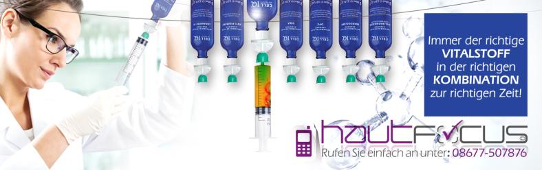 CELL IQ Burghausen Bayern / Kosmetikstudio hautFOCUS: Orthomolekulare Essencen die vitalstoffreiche Schönheitsapotheke für Ihre Haut.