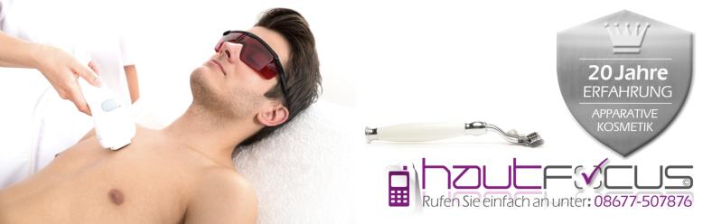 Haarentfernung Burghausen Bayern / Kosmetikstudio hautFOCUS: Ich biete Ihnen folgende professionellen Methoden an IPL, Elektro Nadelepilation, Waxing.